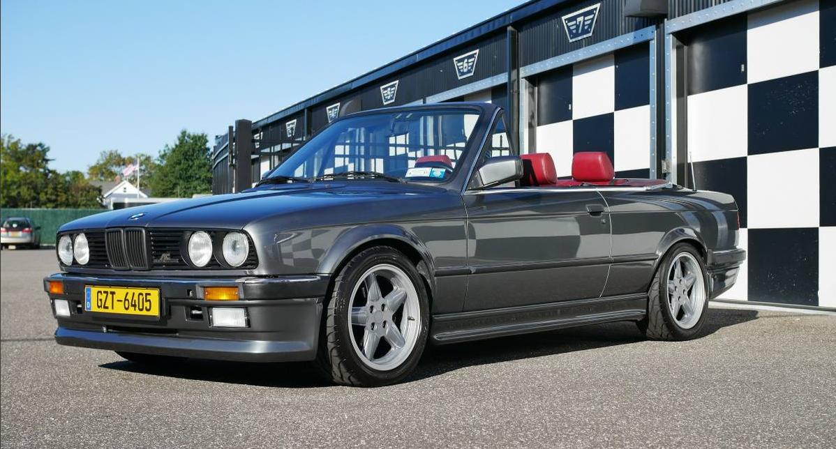 dirtyoldcars.com 1987 BMW E30 AC Schnitzer Tribute Found in San Antonio Texas 9