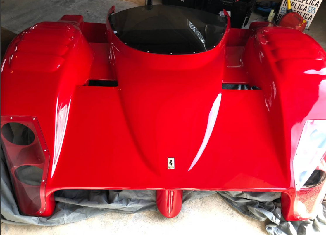 Ferrari 333 Sp Front Body Found In Cohasset Dirty Old Cars