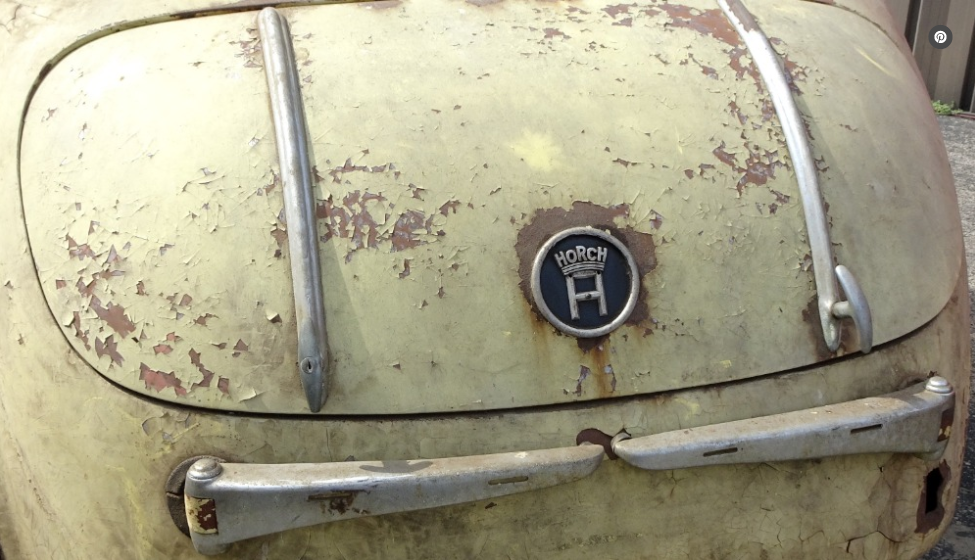 dirtyoldcars.com  1937 Horch 930 V Cabriolet Found in New York   2