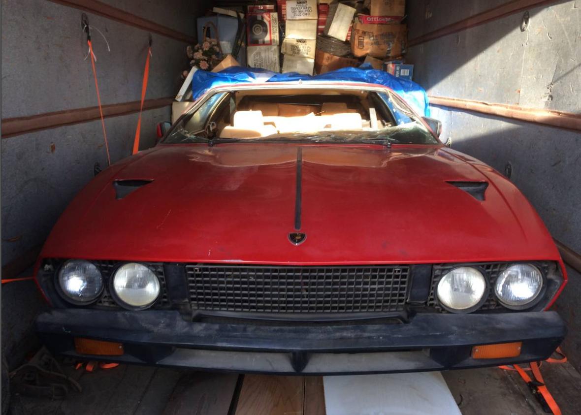dirtyoldcars.com  1978 Lamborghini  Espada III  20 year storage Found in California  4