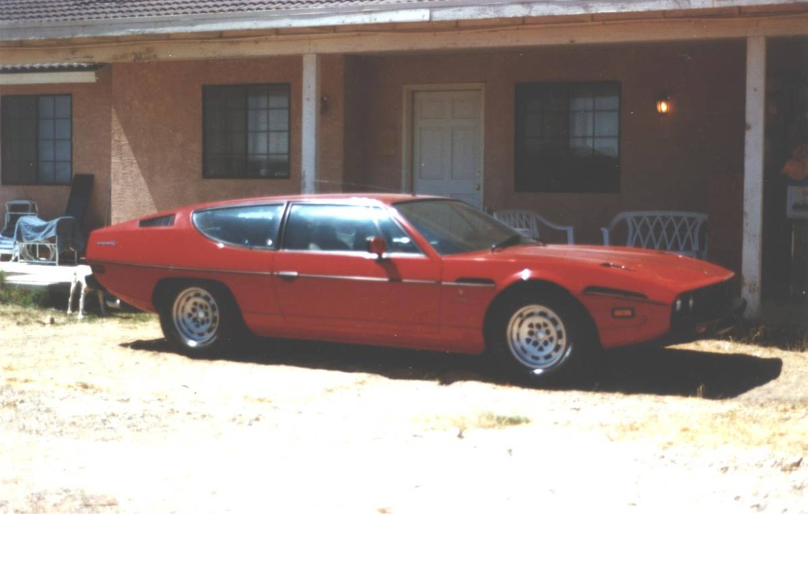 dirtyoldcars.com  1978 Lamborghini  Espada III  20 year storage Found in California  2
