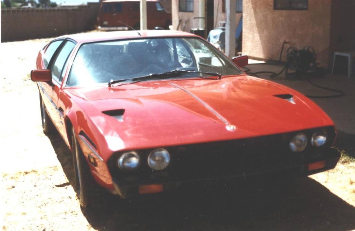 dirtyoldcars.com  1978 Lamborghini  Espada III  20 year storage Found in California  1