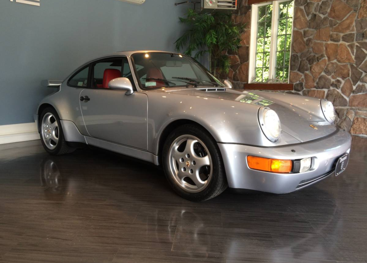 dirtyoldcars.com 1991 Porsche 911 Turbo Found in New York 964 Turbo 3.3 4