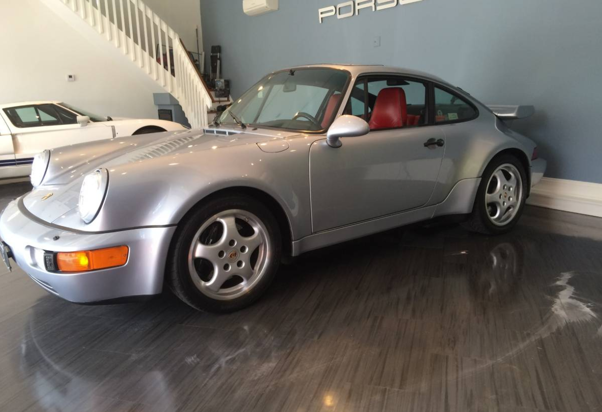 dirtyoldcars.com 1991 Porsche 911 Turbo Found in New York 964 Turbo 3.3 3