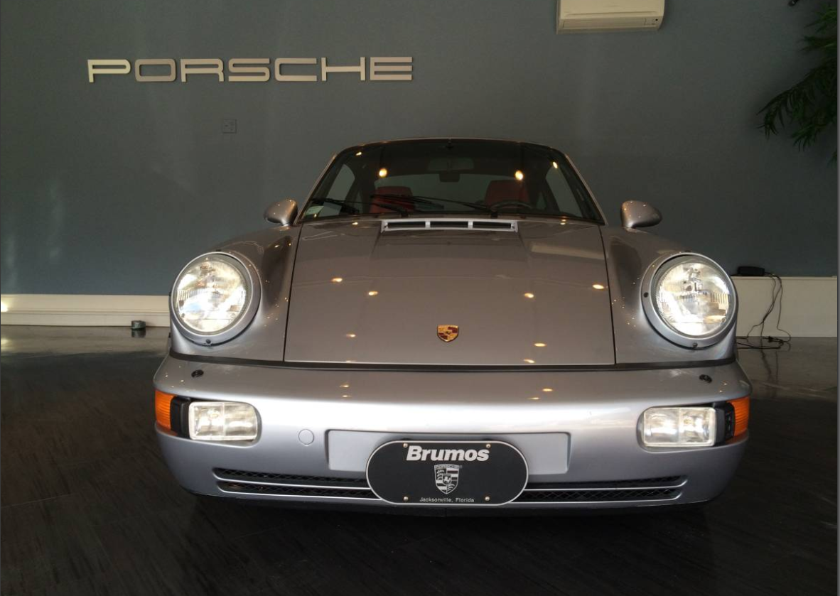 dirtyoldcars.com 1991 Porsche 911 Turbo Found in New York 964 Turbo 3.3 2