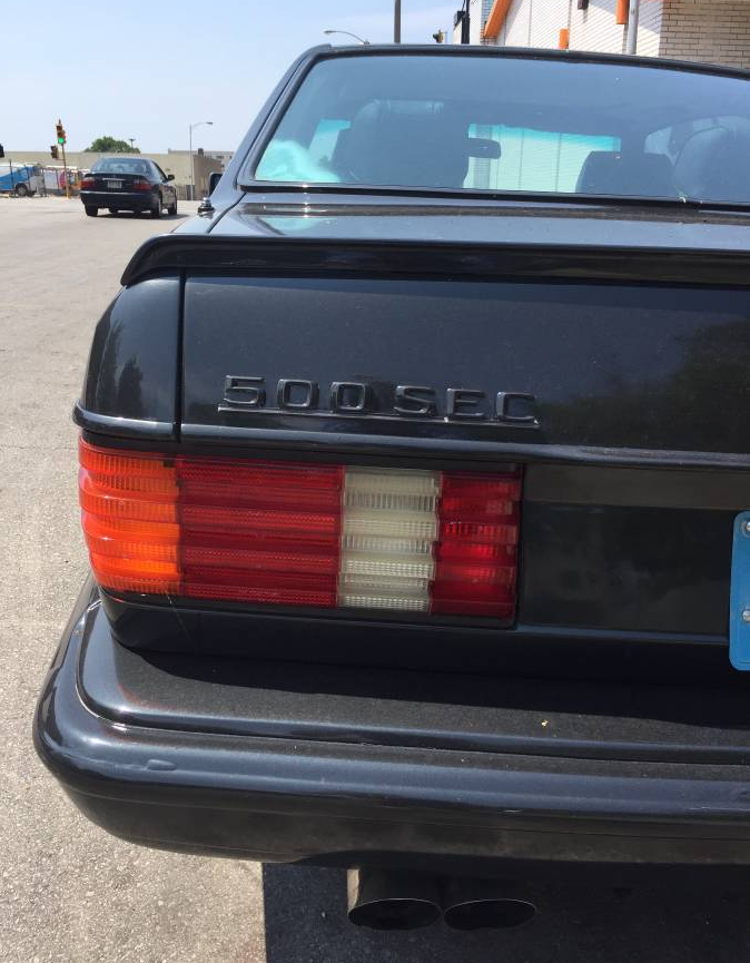 dirtyoldcars.com 1985 Mercedes 500SEC Found in Milwaukee 9