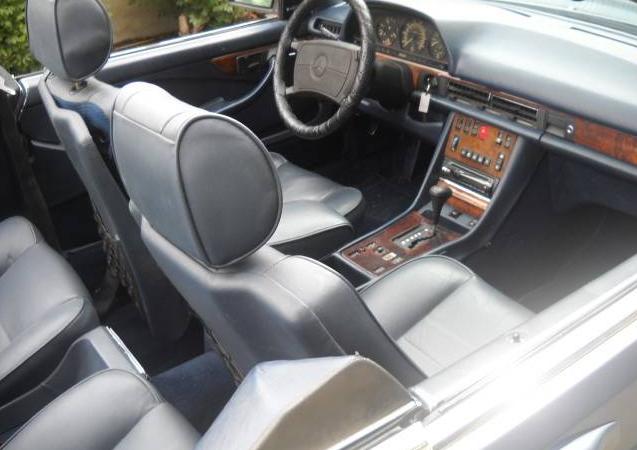 dirtyoldcars.com   1986 Mercedes 560SEC Convertible Straman Conversion Found in Utah   3