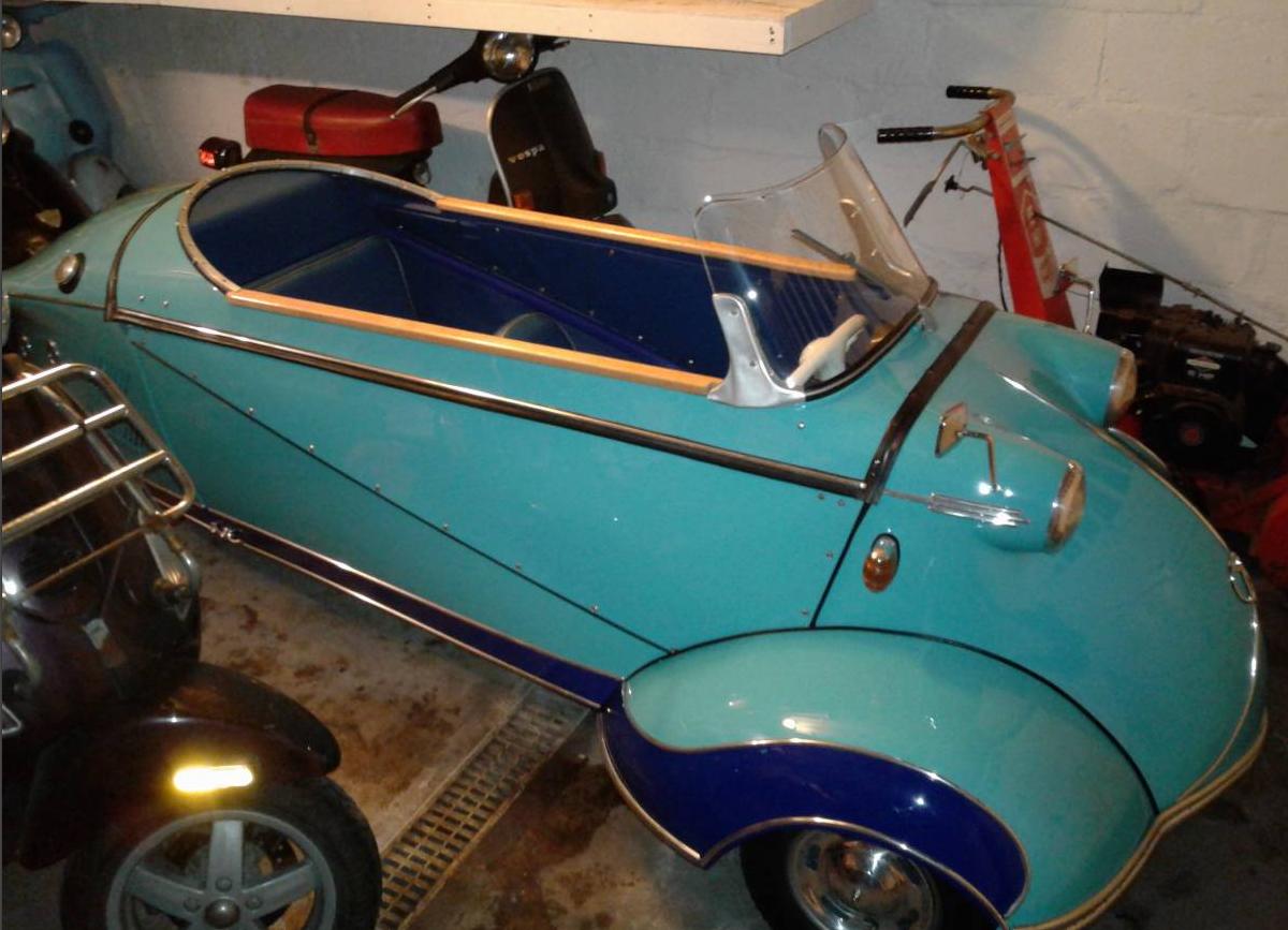 dirtyoldcars.com 1958 Messerschmitt KR200 Microcar Found in New Rochelle 6