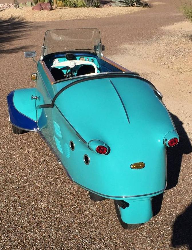 dirtyoldcars.com 1958 Messerschmitt KR200 Microcar Found in New Rochelle 4