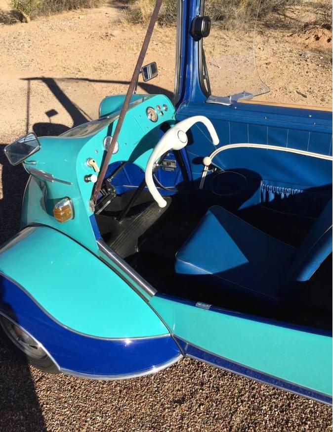 dirtyoldcars.com 1958 Messerschmitt KR200 Microcar Found in New Rochelle 2