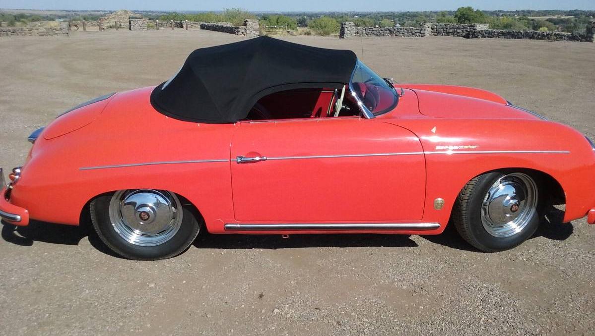 dirtyoldcars.com 1955 Porsche Speedster 1600 Super Found in Boulder 4