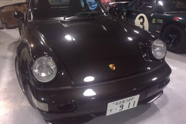 dirtyoldcars.com 1993 Porsche 964 Turbo 3.6 Found in Miami 1