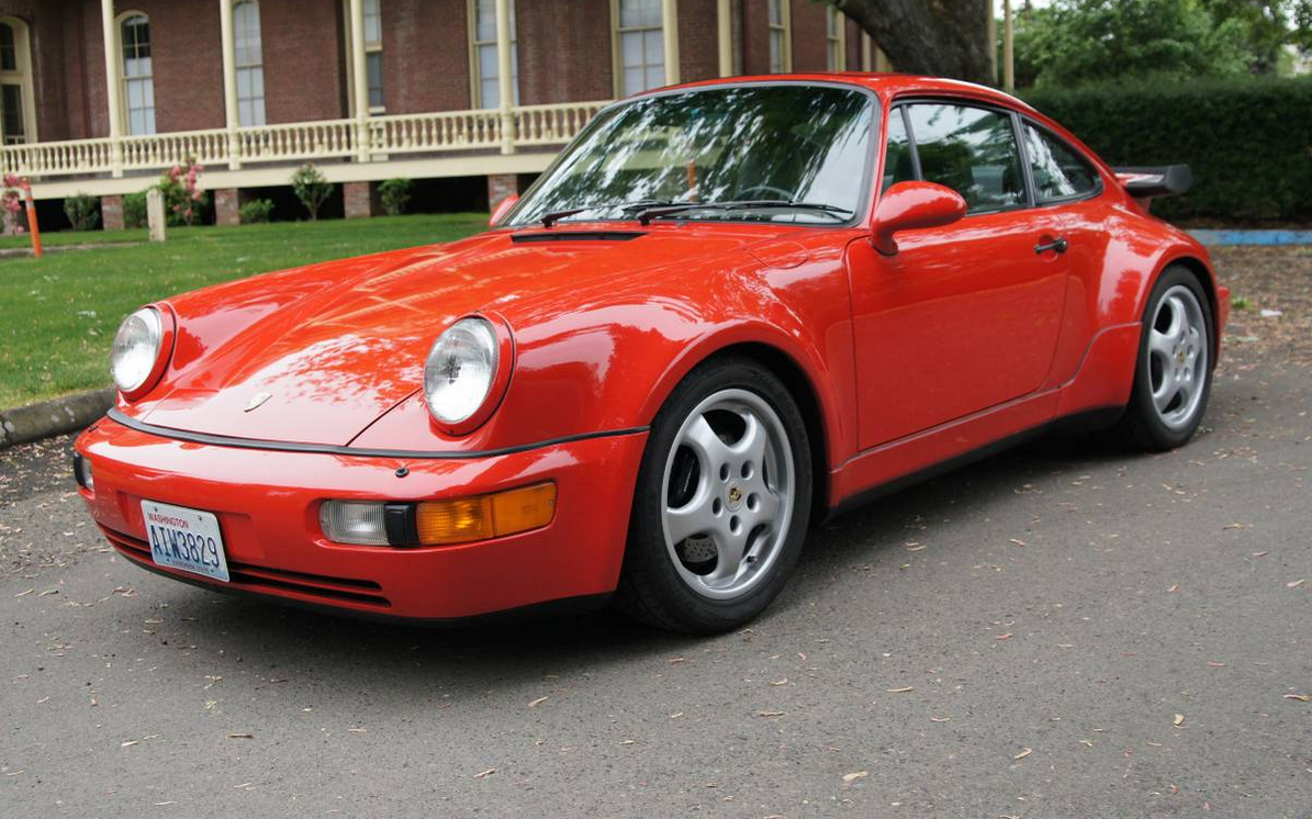 dirtyoldcars.com 1992 Porsche 911 Turbo S2 (1 of 20 ) US Market Road Legal Cars 13
