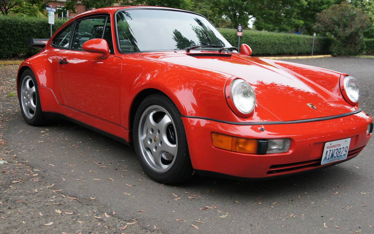 Porsche 964 Turbo S2 Red 964 1992 2 Dirty Old Cars