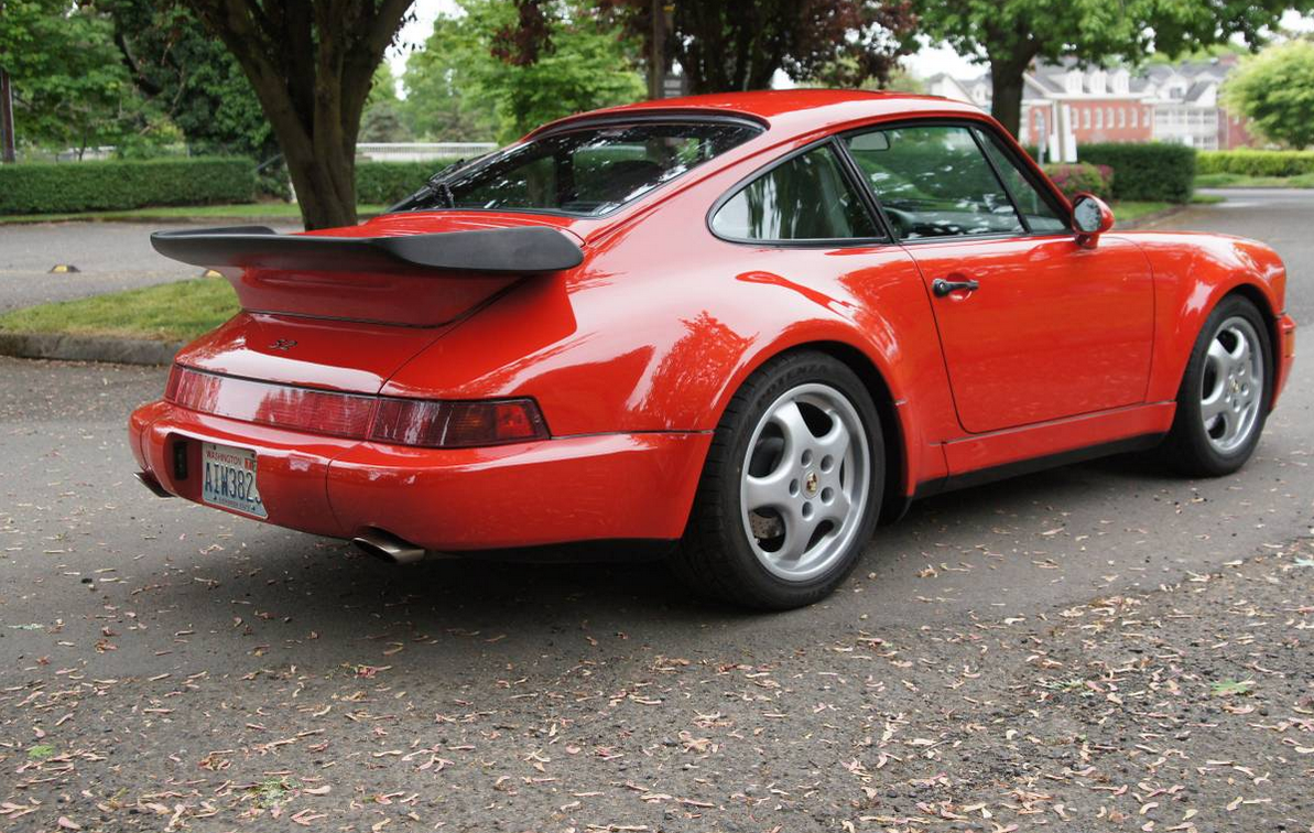 dirtyoldcars.com 1992 Porsche 911 Turbo S2 (1 of 20 ) US Market Road Legal Cars 10