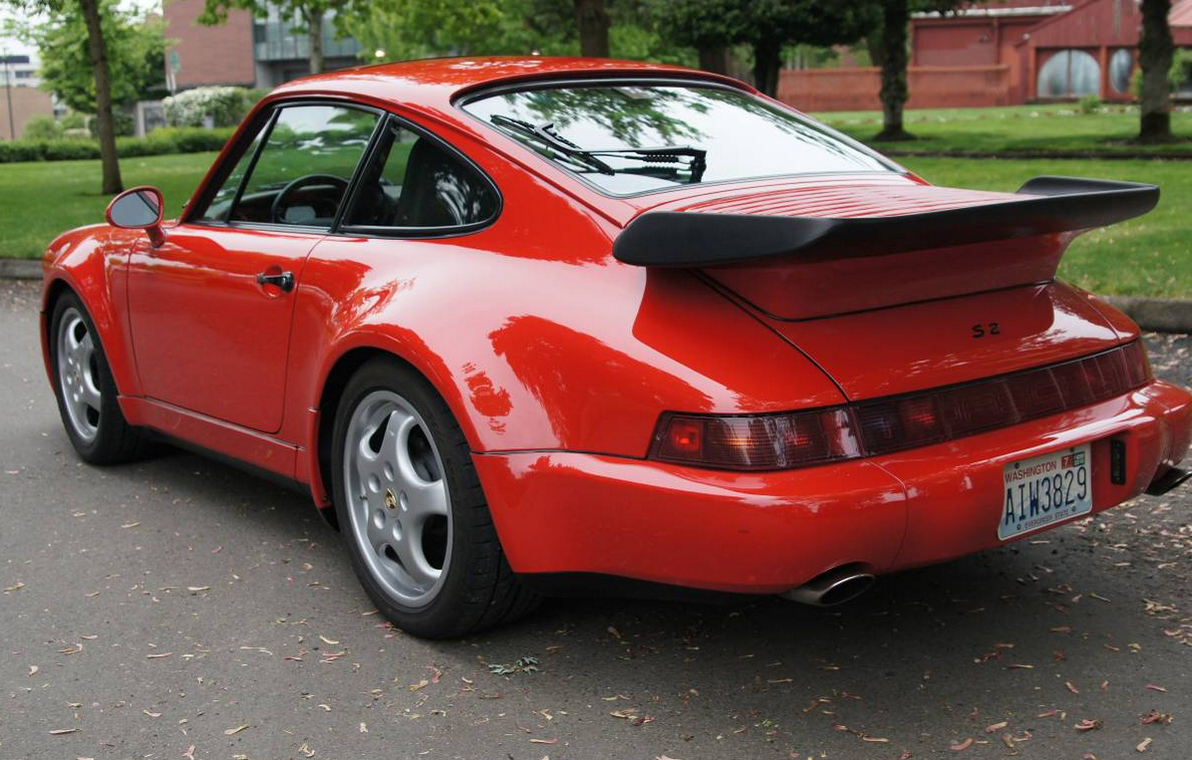 dirtyoldcars.com 1992 Porsche 911 Turbo S2 (1 of 20 ) US Market Road Legal Cars 2