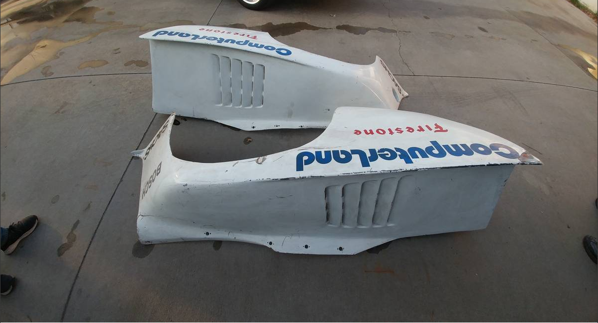 dirtyoldcars.com   Porsche K3 Rear Over Fender Wall Art  3