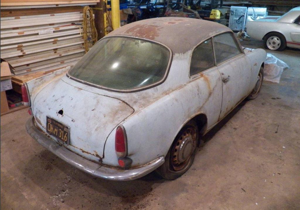 dirtyoldcars.com  1961 Alfa Romeo Giulietta Sprint Found in Tennessee   1