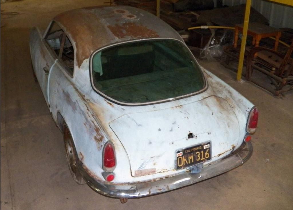 dirtyoldcars.com  1961 Alfa Romeo Giulietta Sprint Found in Tennessee   4