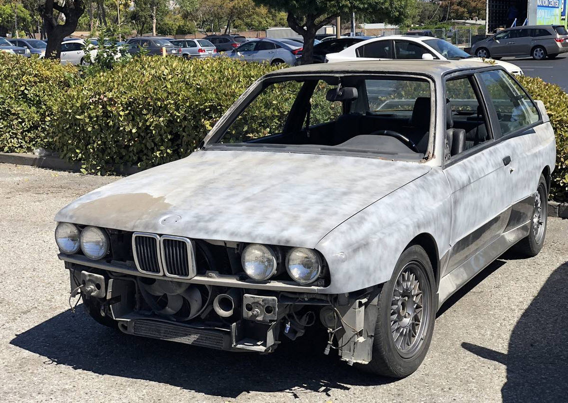 dirtyoldcars.com 1988 BMW E30 M3 Project Found in San Francisco 6