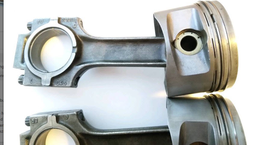 dirtyoldcars.com  BMW E30 S3 2.7L  AC Schnitzer Forged Pistons Found in Germany   1