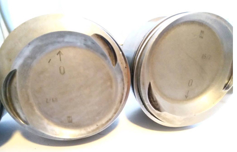 dirtyoldcars.com  BMW E30 S3 2.7L  AC Schnitzer Forged Pistons Found in Germany   3