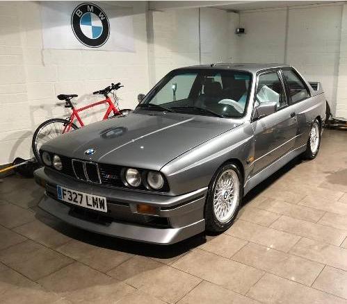 dirtyoldcars.com 1989 BMW E30 M3 EVO 2 Found in England 7