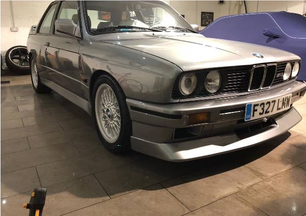 dirtyoldcars.com 1989 BMW E30 M3 EVO 2 Found in England 6