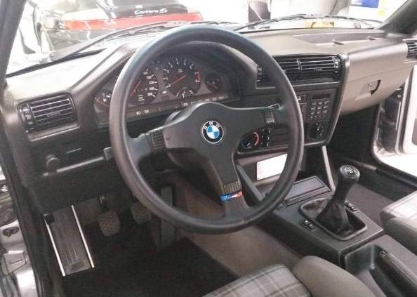 dirtyoldcars.com 1989 BMW E30 M3 EVO 2 Found in England 2