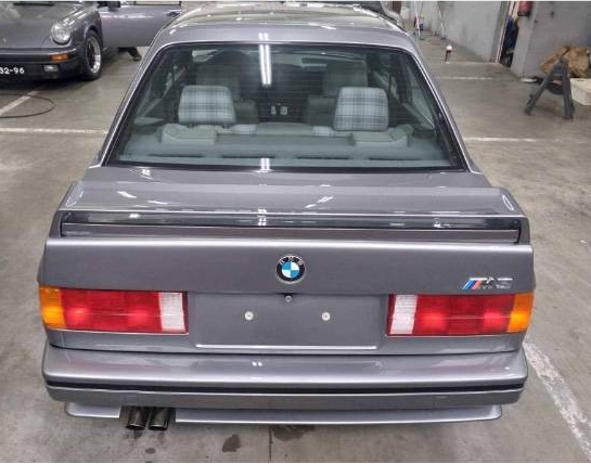 dirtyoldcars.com 1989 BMW E30 M3 EVO 2 Found in England 1