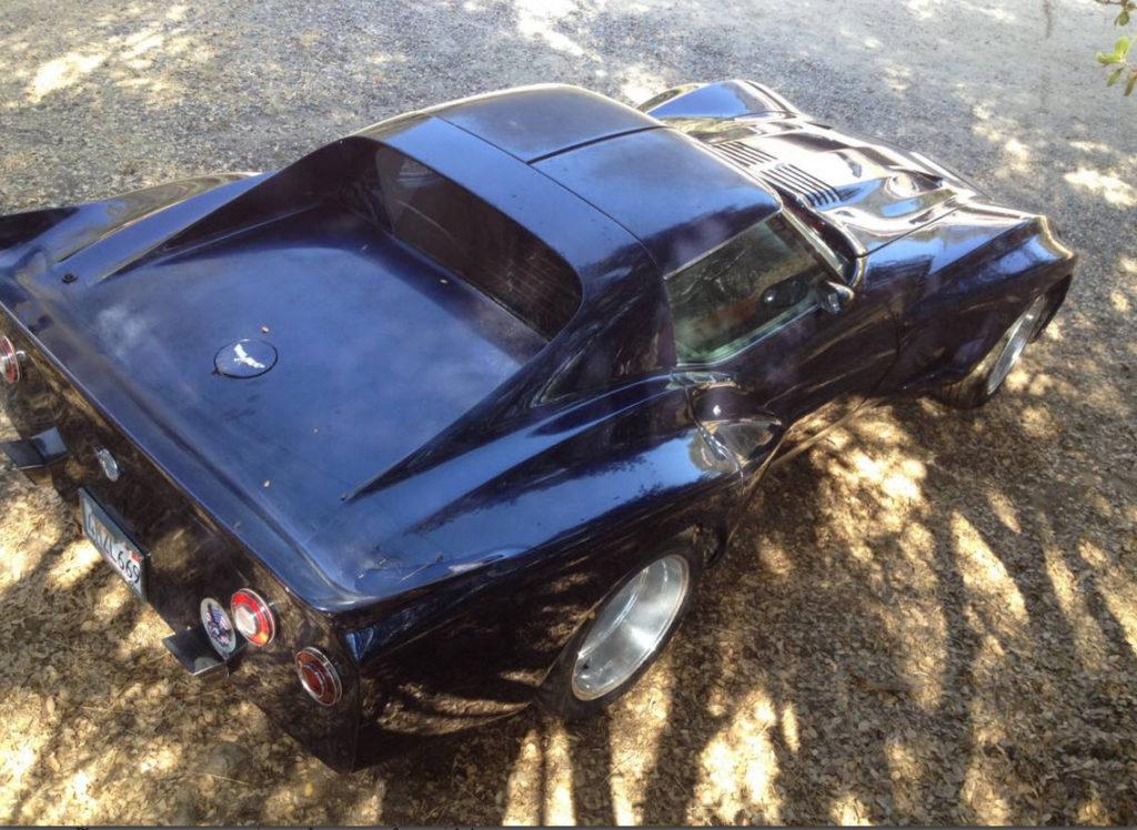 dirtyoldcars.com 1977 Corvette Widebody Found in California   2