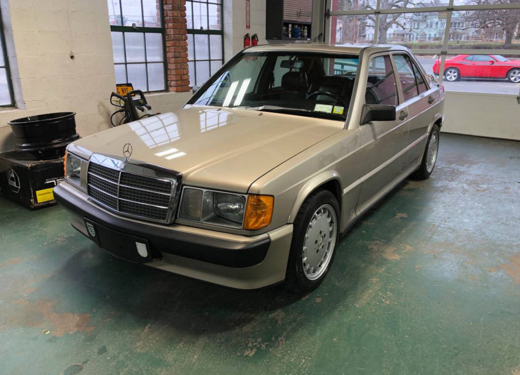 dirtyoldcars.com   Mercedes 190e Cosworth 2.3-16 new york champagne 6