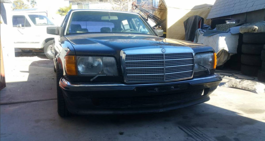 dirtyoldcars.com  Mercedes 5000SEL Gemballa Found in Las Vegas  2