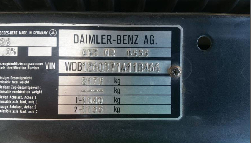 dirtyoldcars.com  Mercedes 5000SEL Gemballa Found in Las Vegas  4