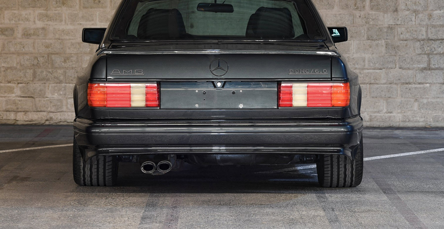 dirtyoldcars.com 1989 Mercedes 560 SEC AMG 6.0 Wide Body For Sothebys Auction Amelia Island 6