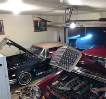 Mercedes Package Deal: 1968 250SE Cabriolet and 1971 300SEL 6.3 Found in San Francisco