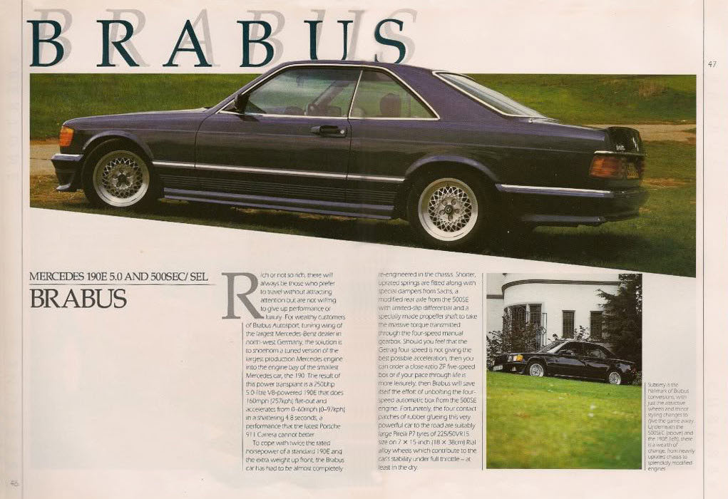 dirtyoldcars.com  RIAL 5x112 16 8j 9j et 11 WHEELS FOR MERCEDES BRABUS LORINSER W107 W116 W126     5