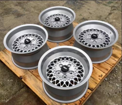 dirtyoldcars.com  RIAL 5x112 16 8j 9j et 11 WHEELS FOR MERCEDES BRABUS LORINSER W107 W116 W126     4