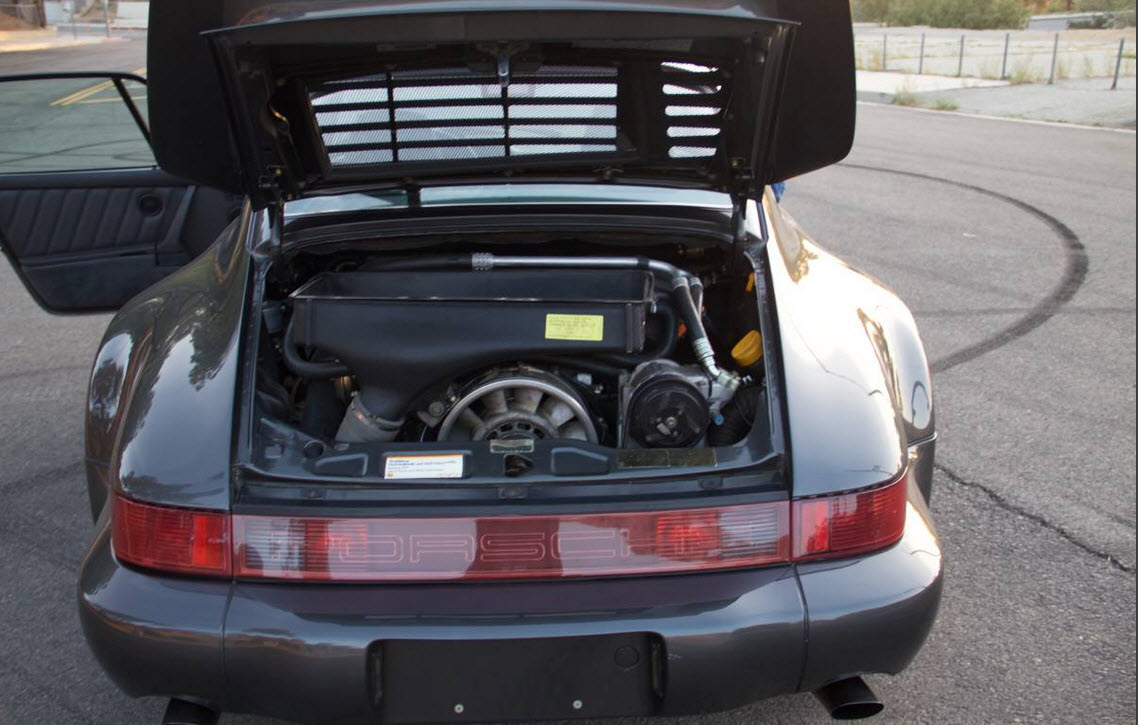 dirtyoldcars.com 1991 Porsche 964 Turbo Found in Tarzana 911 Turbo Slate Grey California 7