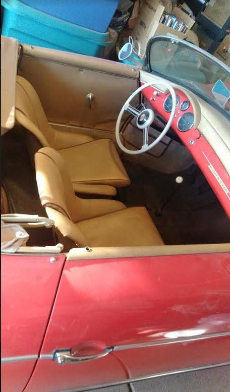 dirtyoldcars.com   1956 Porsche Speedster Found in Florida    5