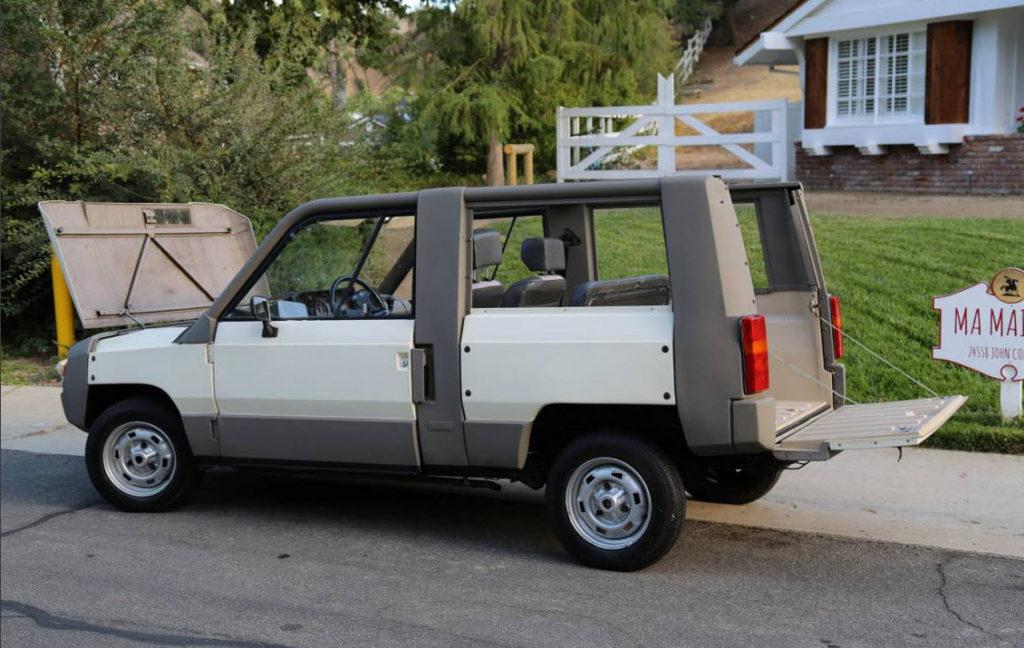 dirtyoldcars.com  1984 Renault Rodeo  Hidden Hills California  4