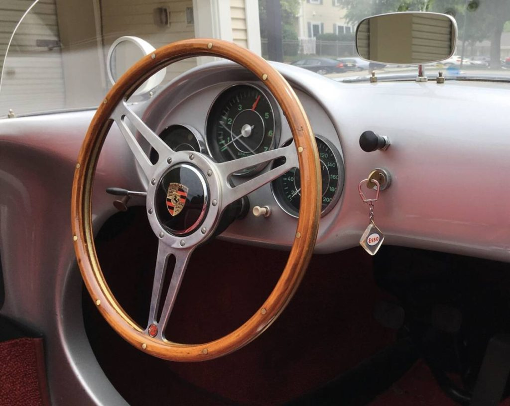 dirtyoldcars.com 1955 Porsche spyder by Beck  Arizona  2