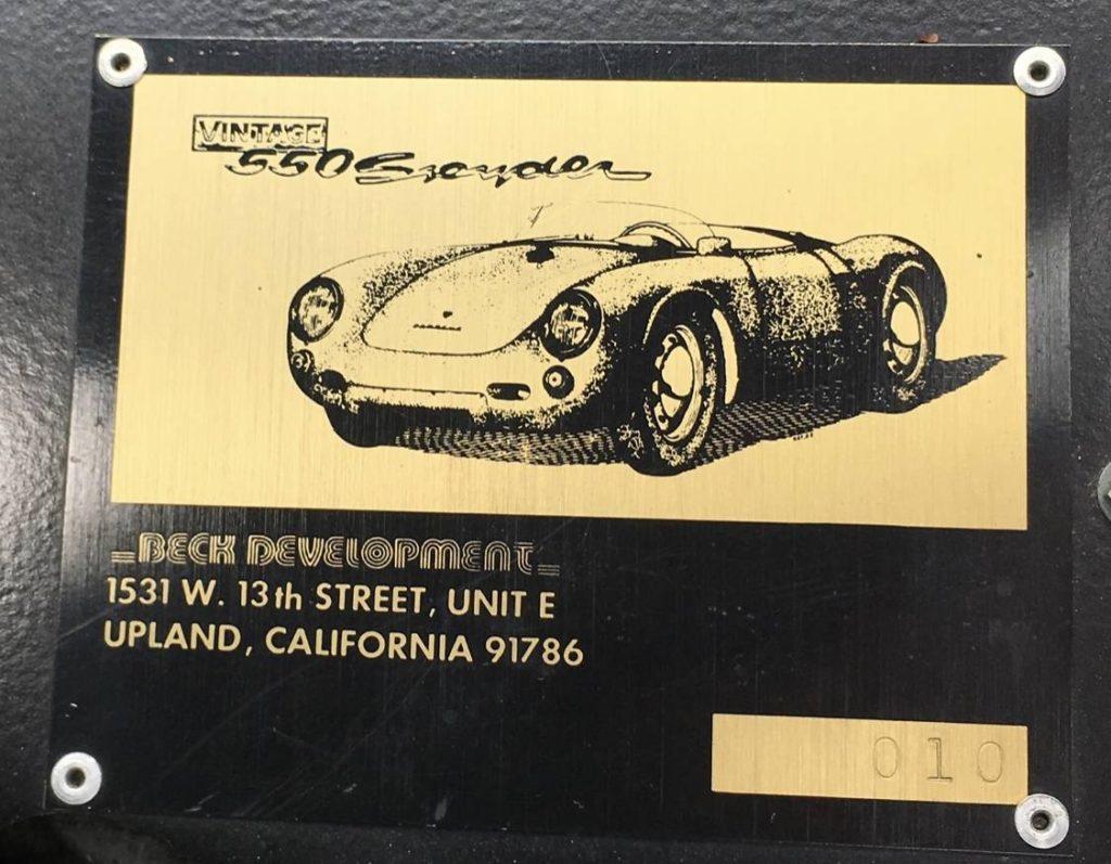dirtyoldcars.com 1955 Porsche spyder by Beck  Arizona  12