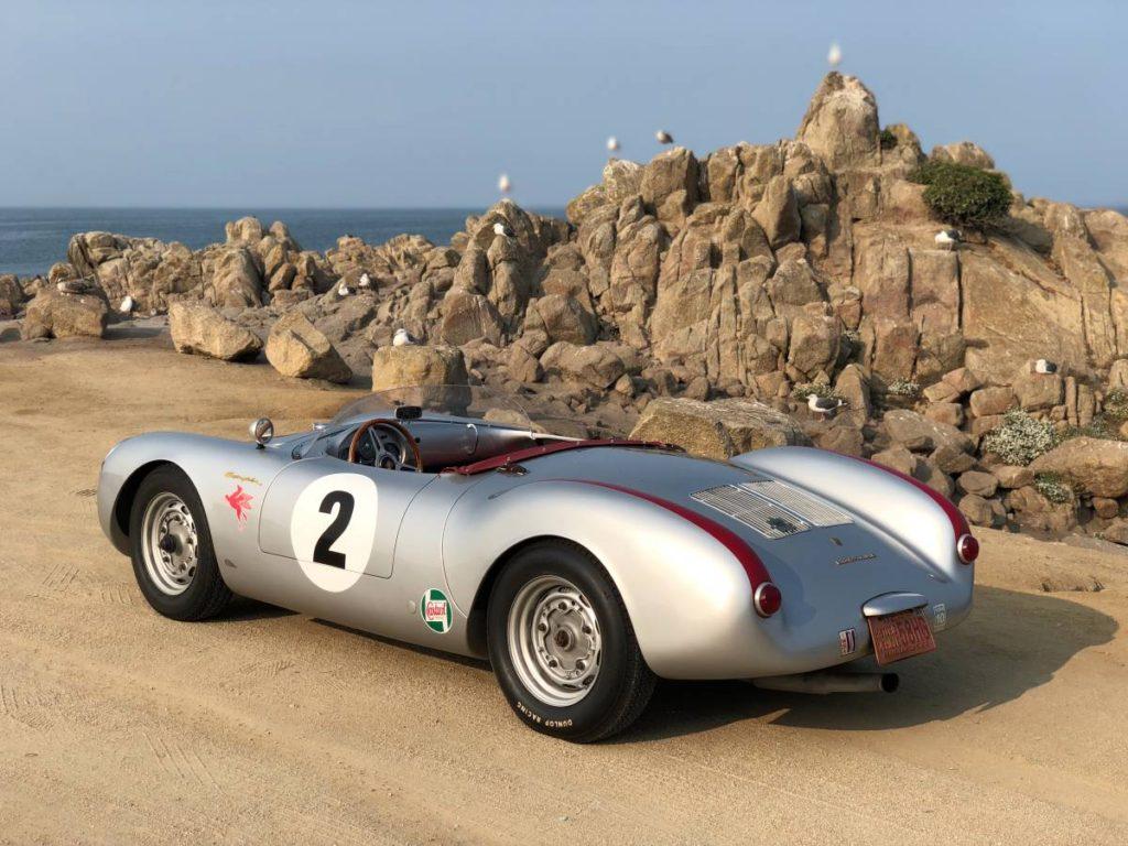 dirtyoldcars.com 1955 Porsche spyder by Beck  Arizona  4