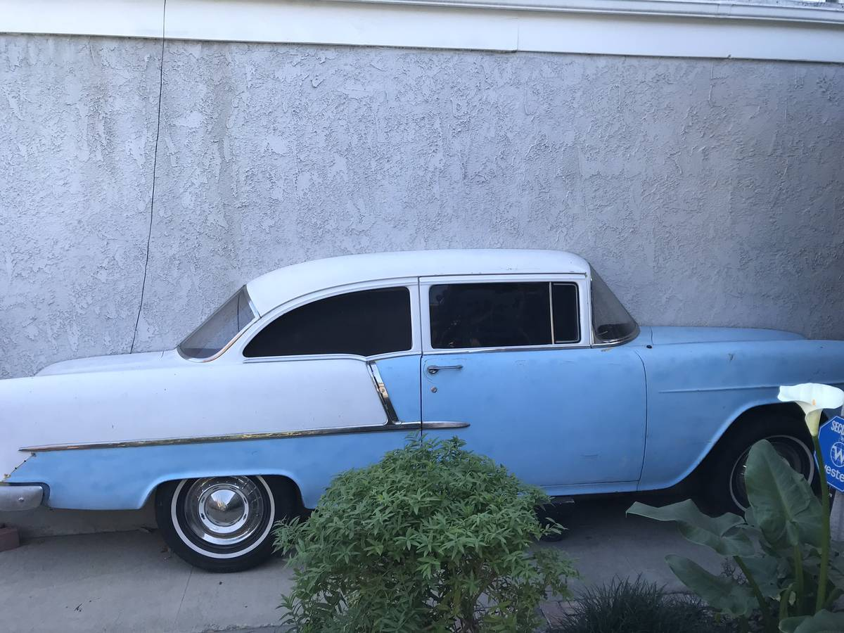 dirtyoldcars.com 1955 Chevy Wall Art Costa Mesa California 2