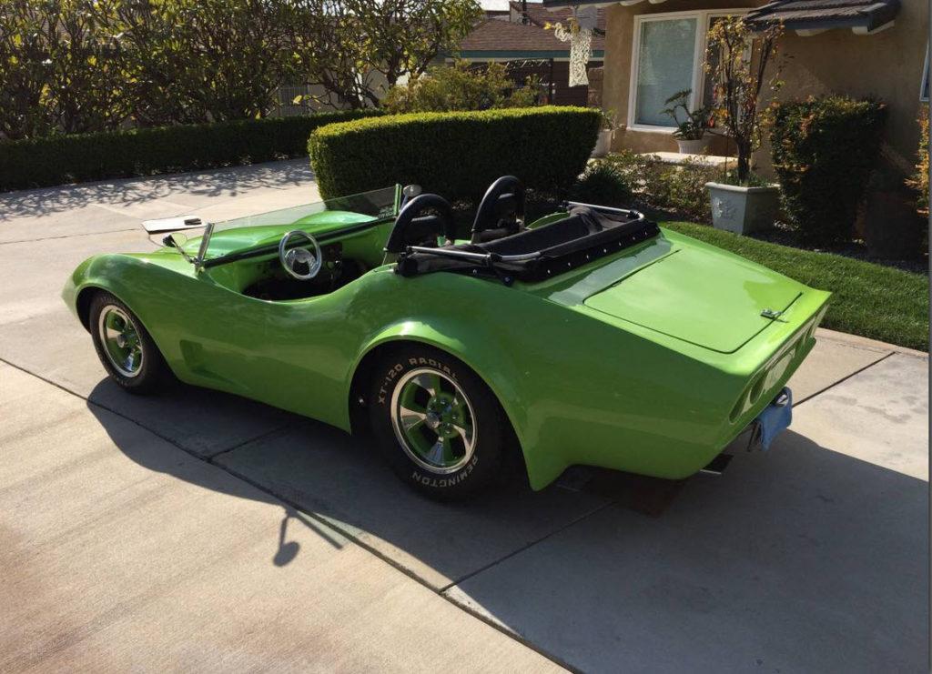dirtyoldcars.com  Dick Dean Shala -Vette 1970 Custom Automobile Show Car   4