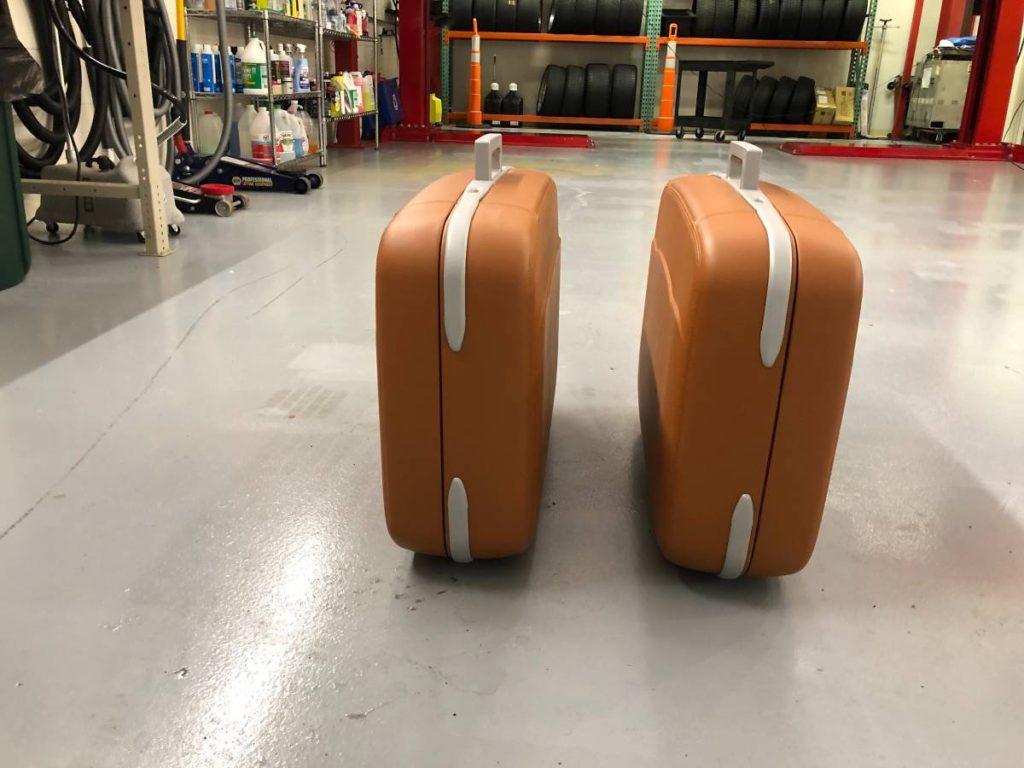 dirtyoldcars.com  Ferrari 360 Schedoni  Luggage Set Connecticut  2