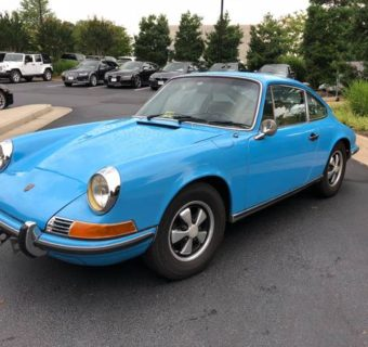 1970 Porsche 911T Found in Texas