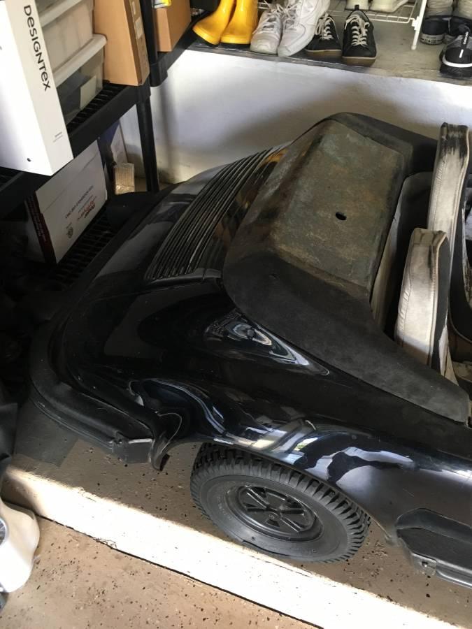 dirtyoldcars.com  Porsche Junior go cart los angeles  2
