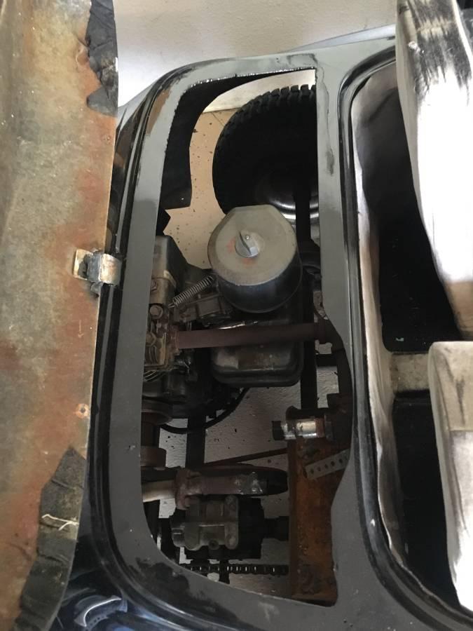 dirtyoldcars.com  Porsche Junior go cart los angeles  1